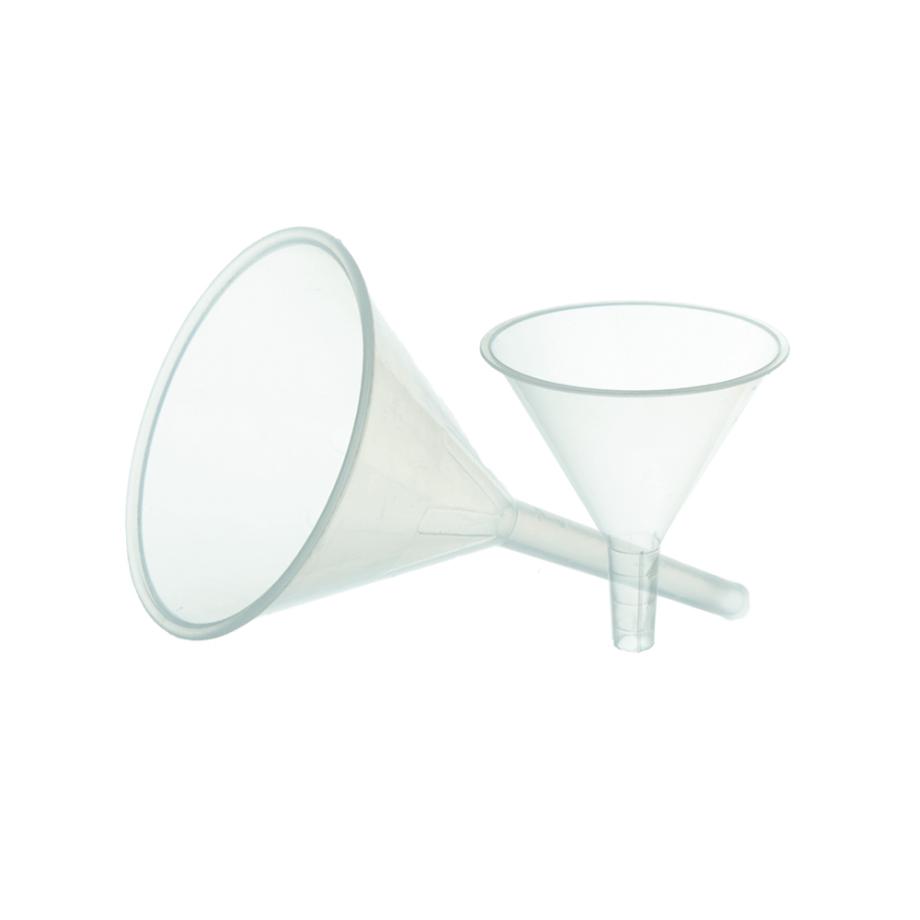 Воронка лабораторная D 100 мм, пластик