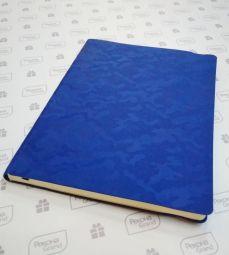 синие синие бизнес-блокноты с паттерном камуфляж Tabby Biggi