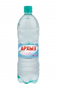 Вода Архыз газ 1 литр (1 уп./9 бут.)
