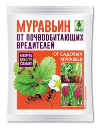 "Инсектицид ""Муравьин"" от садовых муравьев 10гр Грин Бэлт"