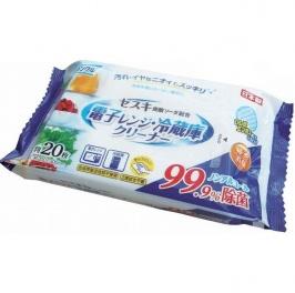 L-D Влажные салфетки для микроволновых печей и холодильников 20шт