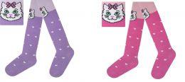 Детские колготки С 7811 Кошка на коленках