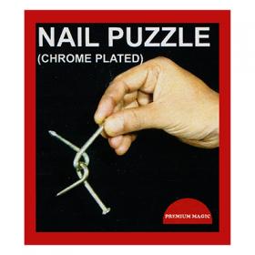 Головоломка Nail Puzzle - сцепленные гвозди