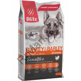 Blitz Adult All Breeds Turkey & Barley