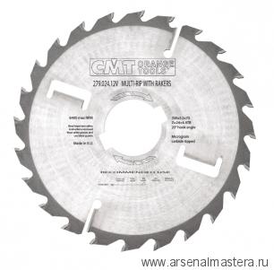 CMT 280.021.08S 200x40x2,5/1,8 18гр FLAT Z21/3 Пильный диск для многопильных станков