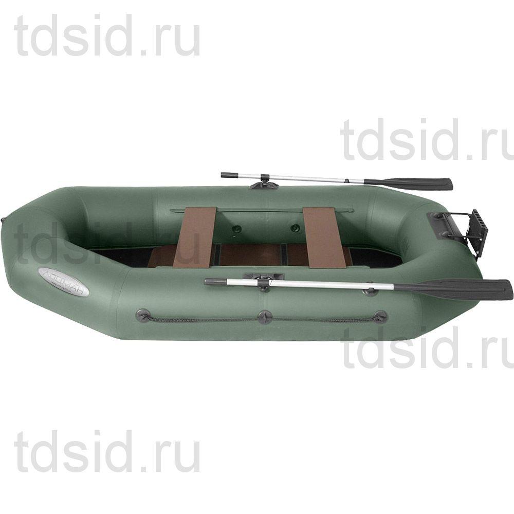 """Лодка гребная ПВХ """"Профи"""" Лоцман С 260 М П РС"""