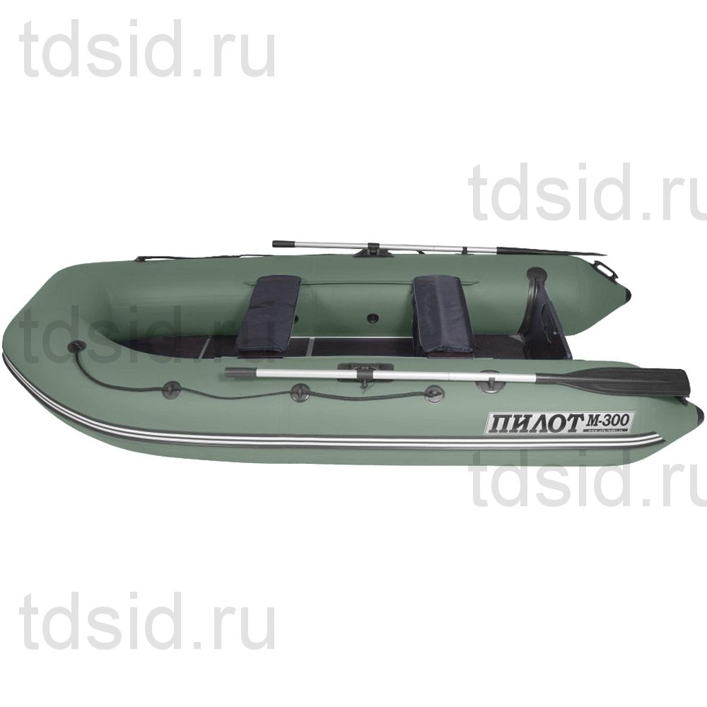 Лодка моторно -гребная ПВХ Пилот М-300