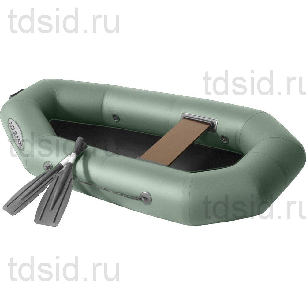 Лодка гребная ПВХ Лоцман С-200 ГР