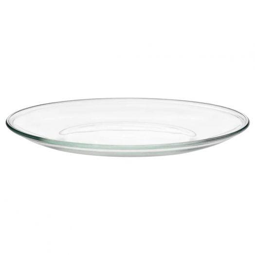 Тарелка стеклянная, 23 см