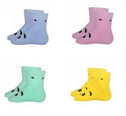 Детские махровые носки моська 9-10, 11-12