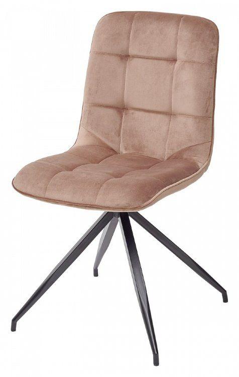 Стул RIMINI светло-коричневый, велюр G108-75 М-City