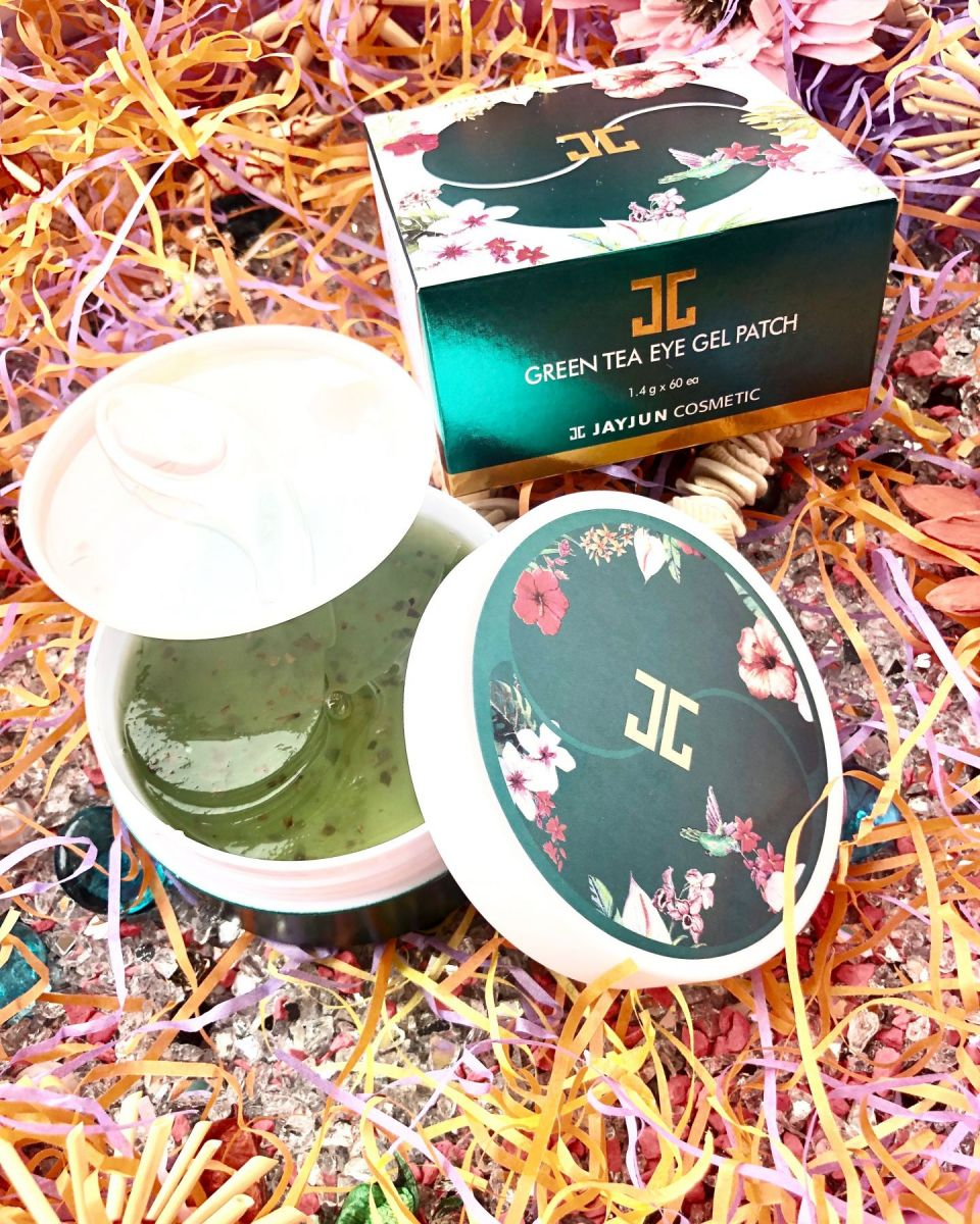 Патчи под глаза JAYJUN Cosmetic Green Tea Eye Gel Patch Корея ,60 шт