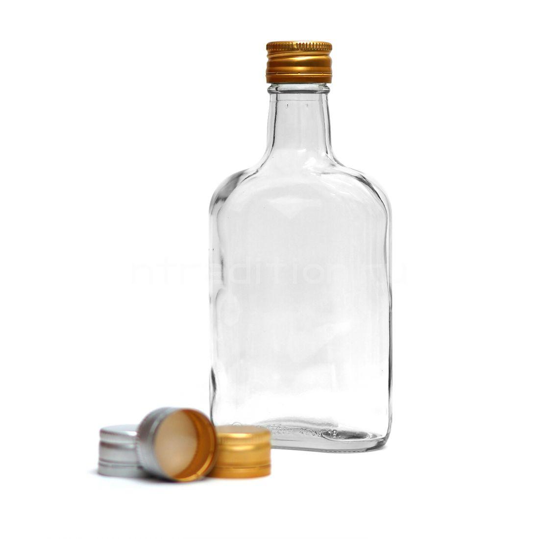 Бутылка Фляжка, под винт 28*18 0,25 л / 24 шт
