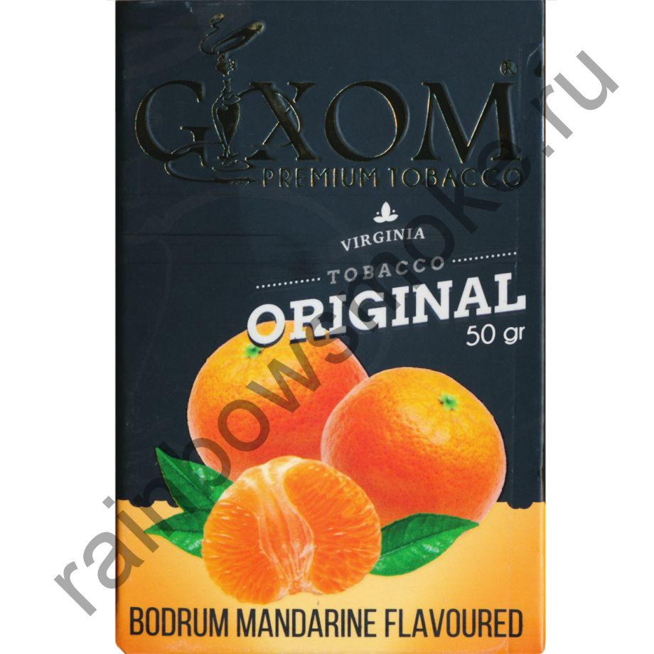 Gixom Original series 50 гр - Bodrum Mandarine (Бодрум Мандарин)