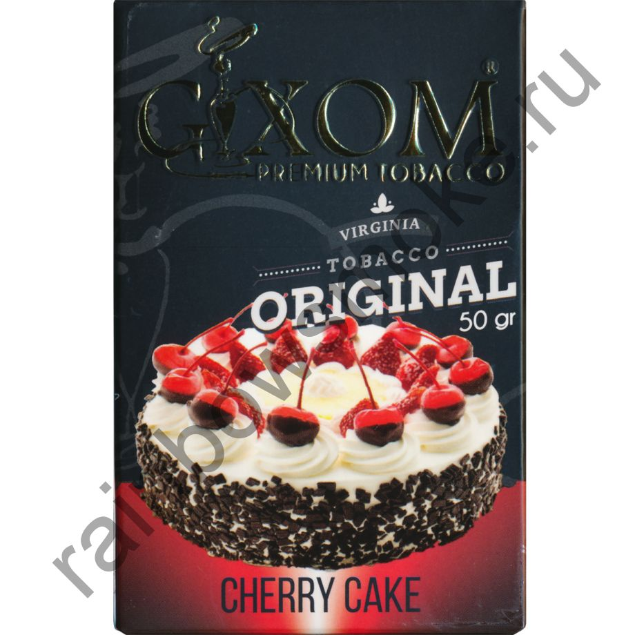 Gixom Original series 50 гр - Cherry Cake (Вишневый Пирог)