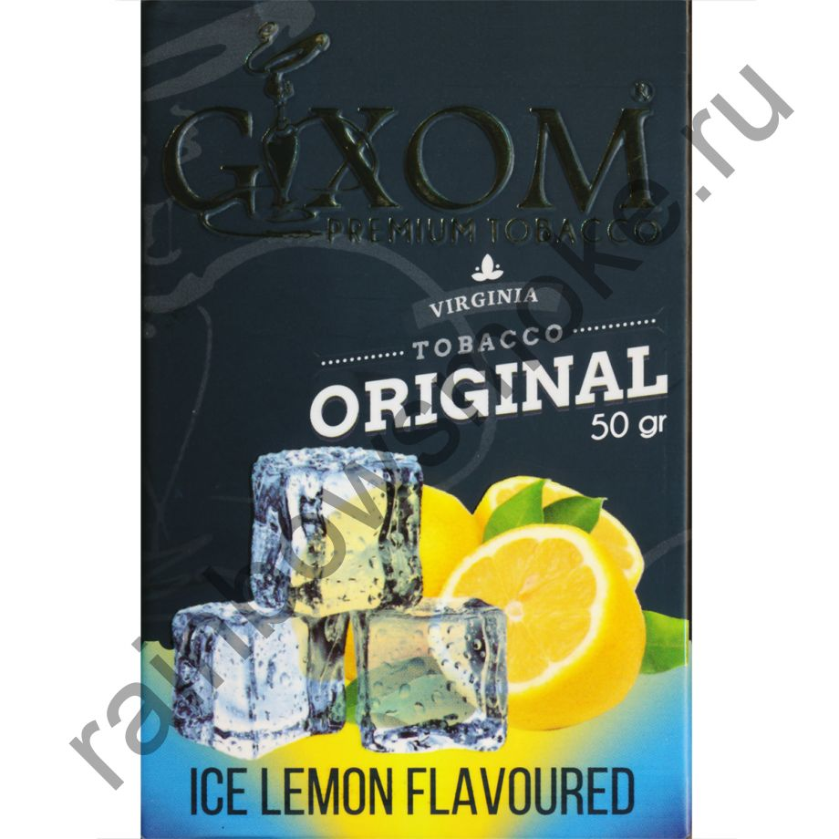 Gixom Original series 50 гр - Ice Lemon (Айс Лимон)