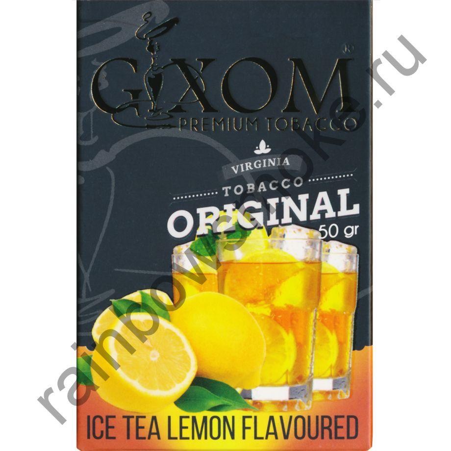 Gixom Original series 50 гр - Ice Tea Lemon (Ледяной Лимонный Чай)