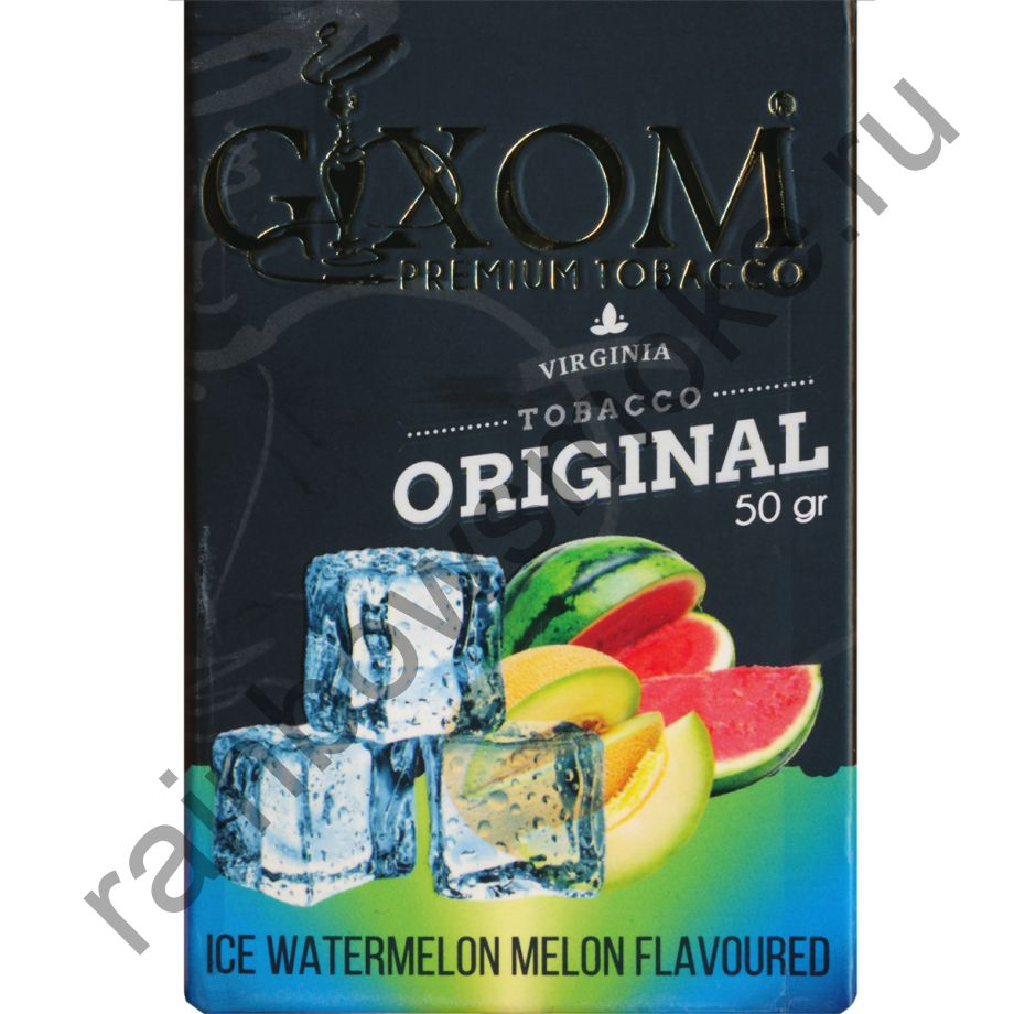 Gixom Original series 50 гр - Ice Watermelon Melon (Ледяной Арбуз Дыня)