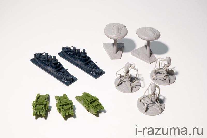 Война Миров Набор дополнительных миниатюр
