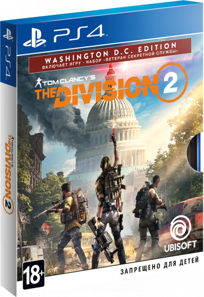 Игра Tom Clancy's The Division 2. Washington D.C. Edition (PS4)
