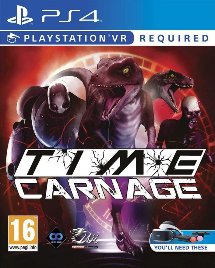 Игра Time Carnage (PS4, PS VR)