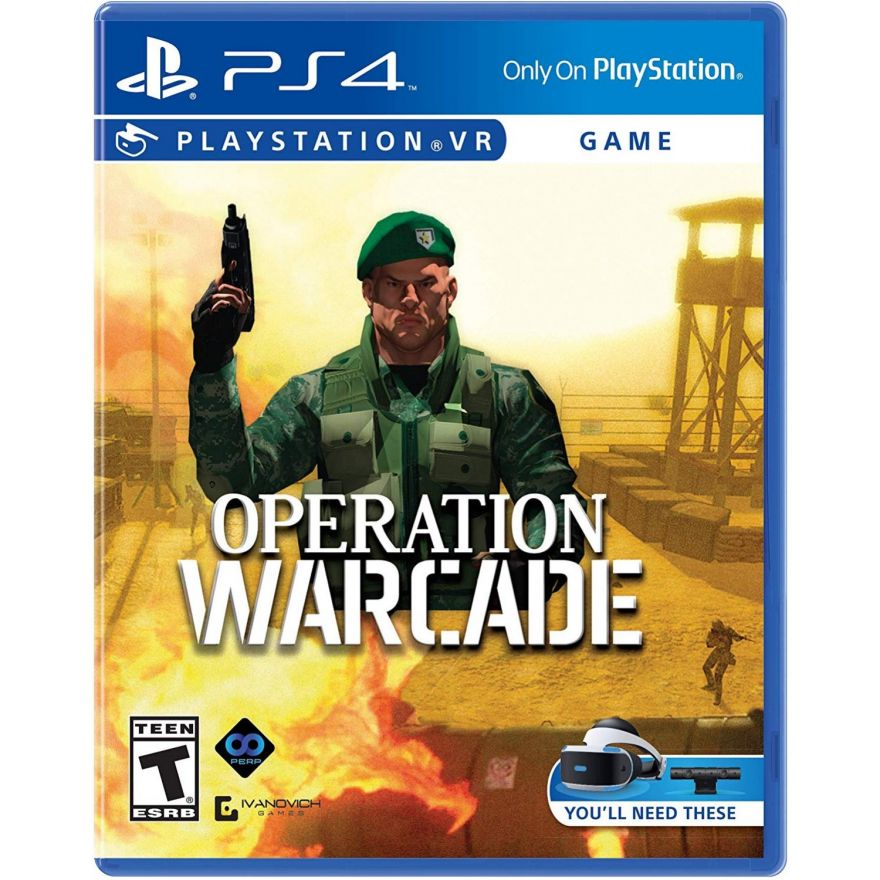 Игра Operation Warcade (PS4, PS VR)