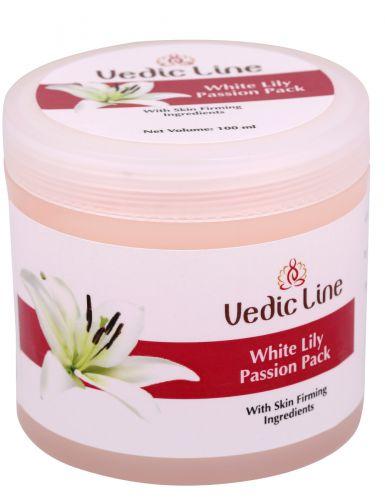 Маска для лица Белая лилия   гелевая для тонкой, чувствительной и молодой кожи   100 мл   Vedic Line