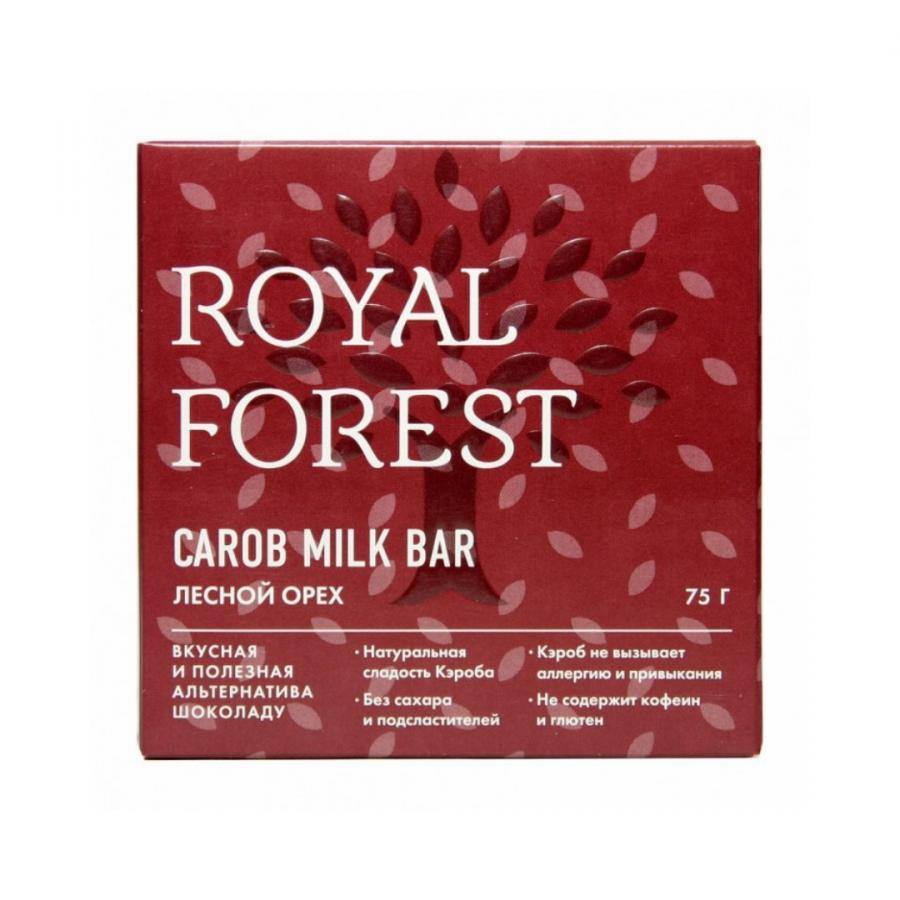 Шоколад из кэроба с лесными орехами