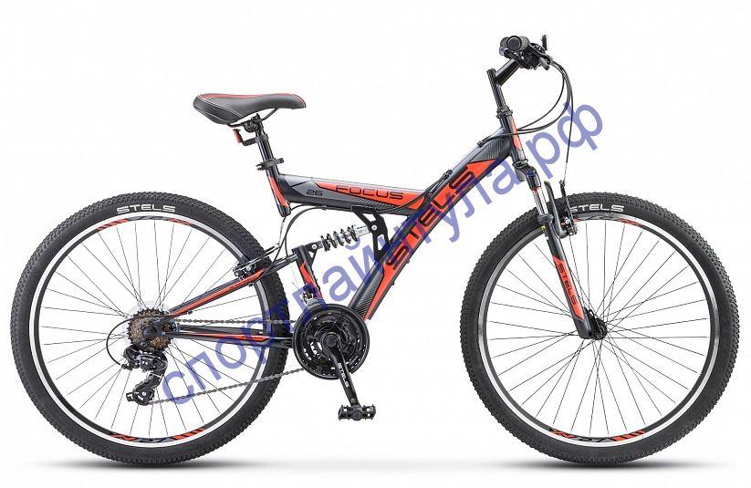 """Двухподвесный велосипед STELS Focus V 26"""" 18-sp V030"""