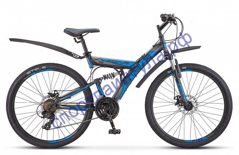 """Двухподвесный велосипед STELS Focus MD 26"""" 21-sp V010"""