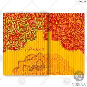 ОП_018 Virena. Обложка на Паспорт (набор 425 рублей)