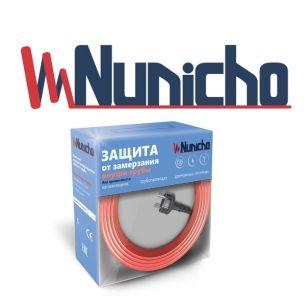 Готовый комплект кабеля NUNICHO Micro  внутрь трубы 10 Вт/м - 20 метров с вилкой и сальниковым узлом 1/2 и 3/4
