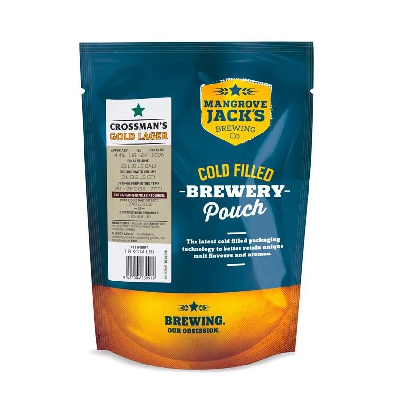 Mangrove Jack's Gold Lager (1,8 кг)