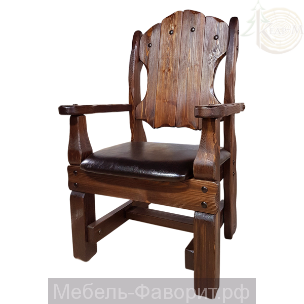 """Кресло """"Добряк"""" (кожа/ткань)"""