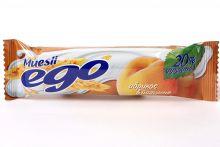 Батончики мюсли абрикос йогурт Ego, 25 г