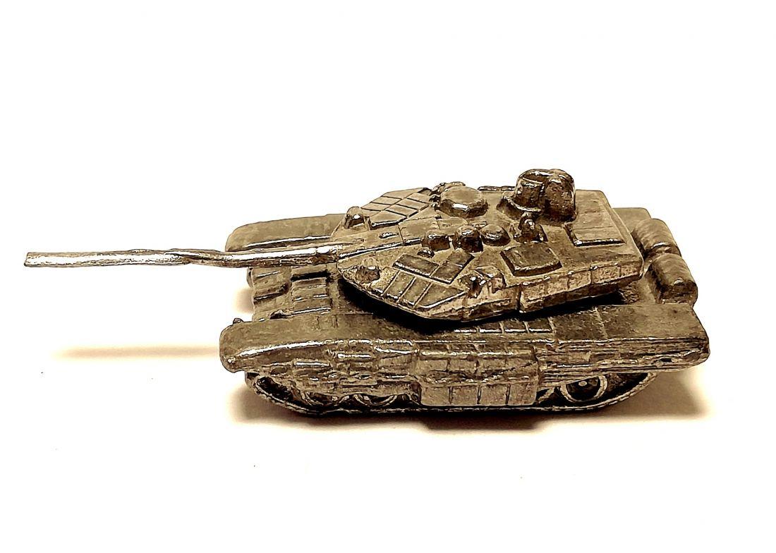 Фигурка Танк Т-90 Владимир олово