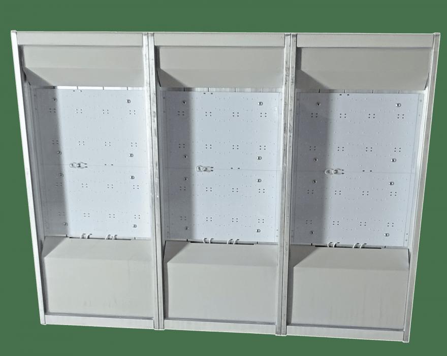 Промышленный светильник MBRLED ПРОМ-С-420-Х КСС - Г, К (8, 15, 25, 45, 20х50 град)