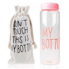 Бутылка для воды My Bottle (Май Батл), Цвет: Розовый
