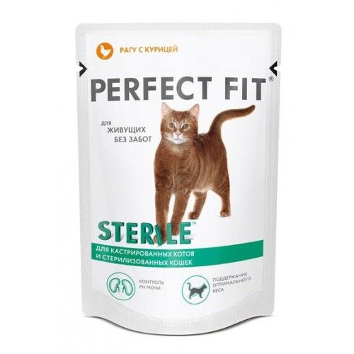 Перфект фит 85г пауч стер. кошки