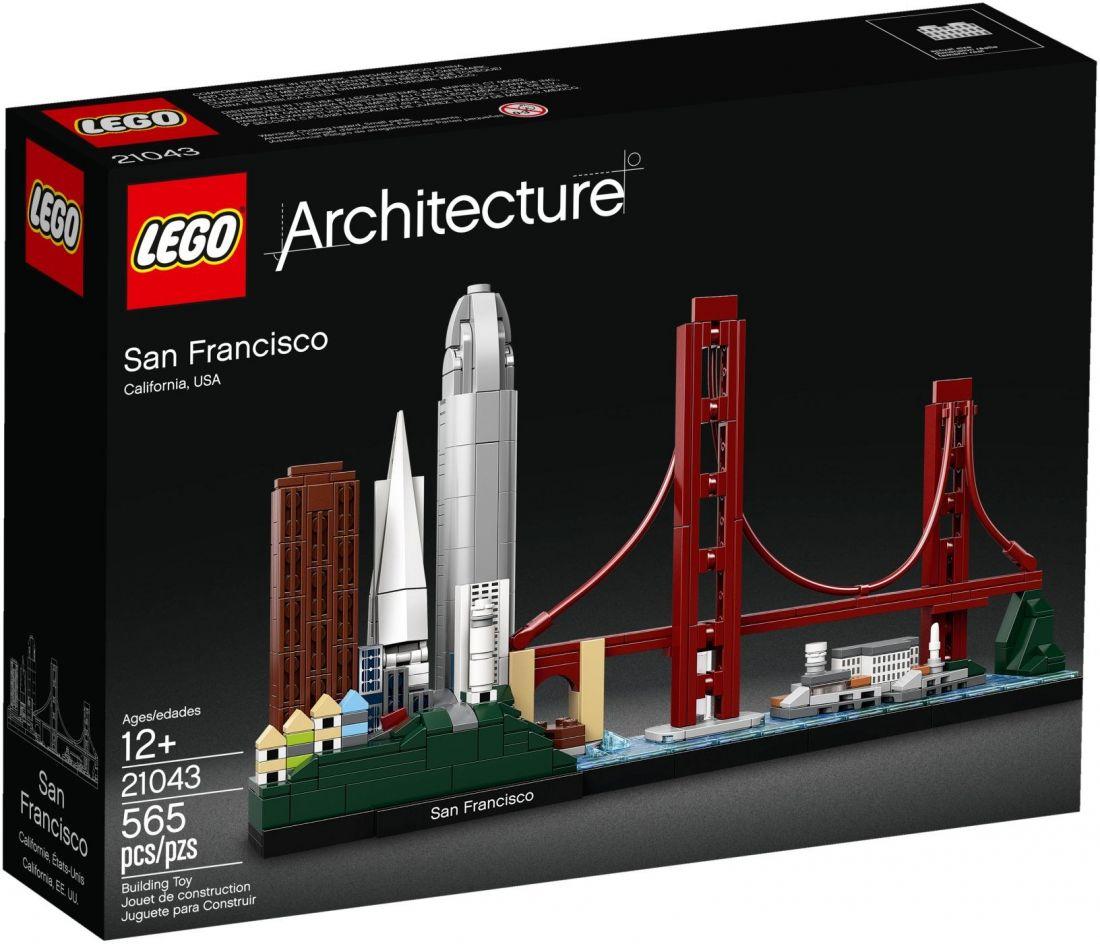 Сан-Франциско. Конструктор ЛЕГО Архитектура 21043