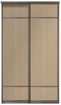 Двери купе - ЛДСП+ЛДСП, комбинированные