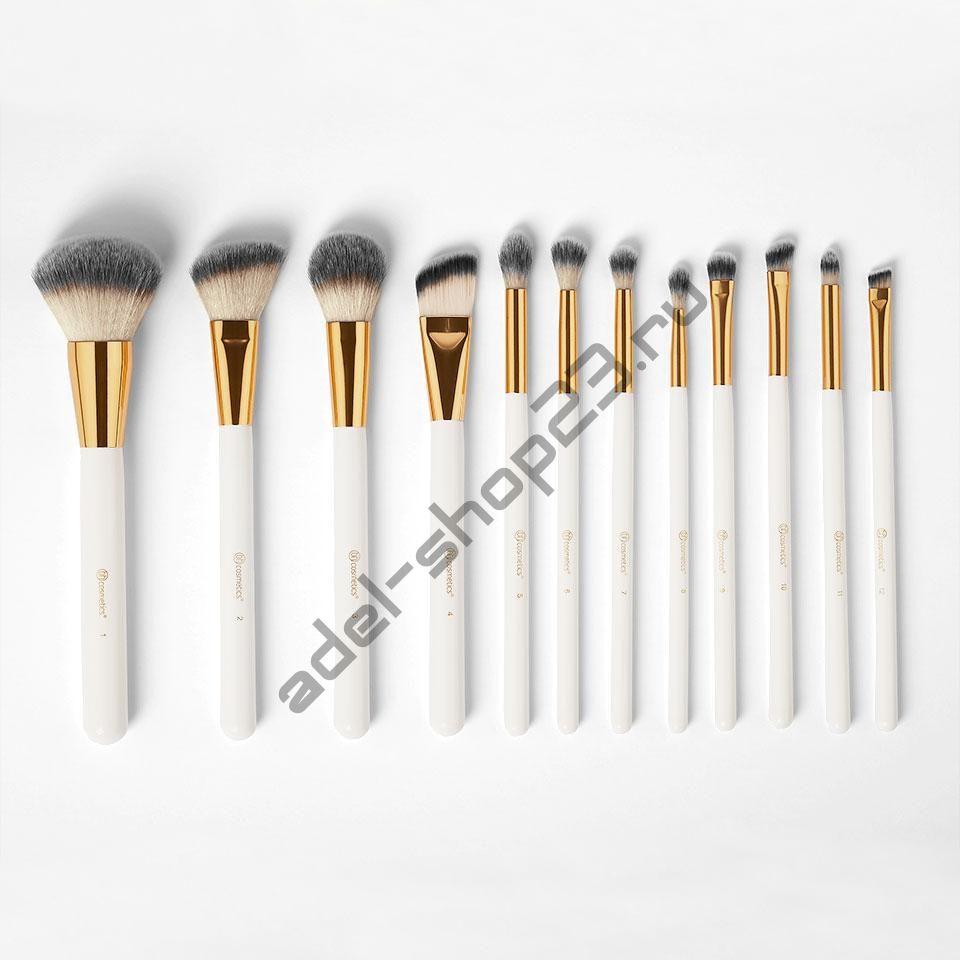 BH COSMETICS - набор из12 кистей White Studded Elegance