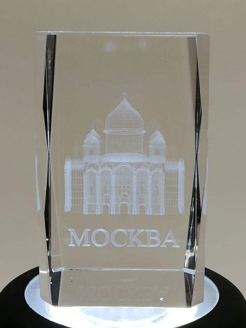 Куб сувенирный Москва Храм Христа Спасителя