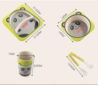 Набор детской посуды из бамбука Bamboo Ware Kids Set (3)