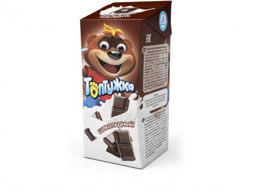 Коктейль молочный Топтыжка шоколад 3,2% 200г Ижевск