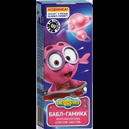 Коктейль Смешарики Бабл гам 2,5% 200г Юнимилк