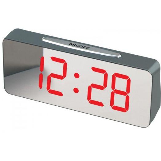 Часы эл. VST763Y-1 крас.цифры