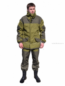 Костюм Горка-3 куртка/брюки, ткань палаточная ГОСТ 100% х/б /хаки (Артикул: OPR003-01)