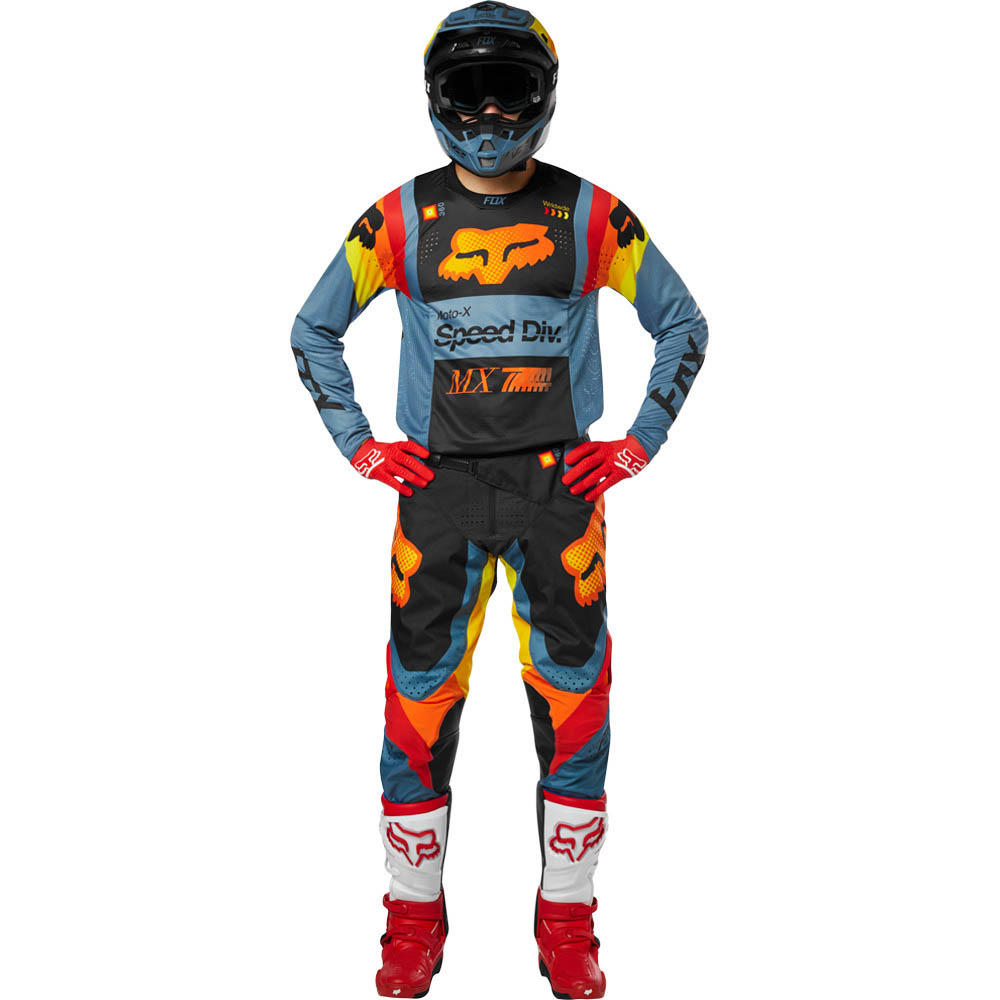 Fox - 2019 360 Youth Murc Blue Steel комплект подростковый джерси и штаны