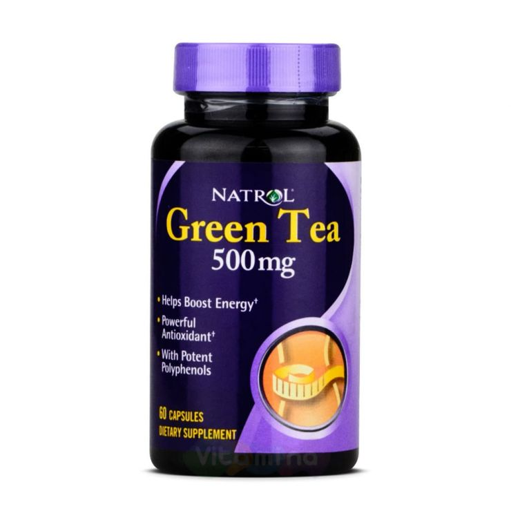 Natrol Экстракт Зеленого чая Green Tea 500 мг